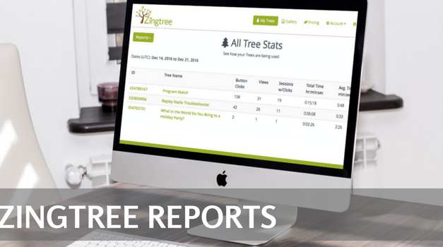 Decision Tree Analytics: All Tree Stats & All Agent Usage Reports