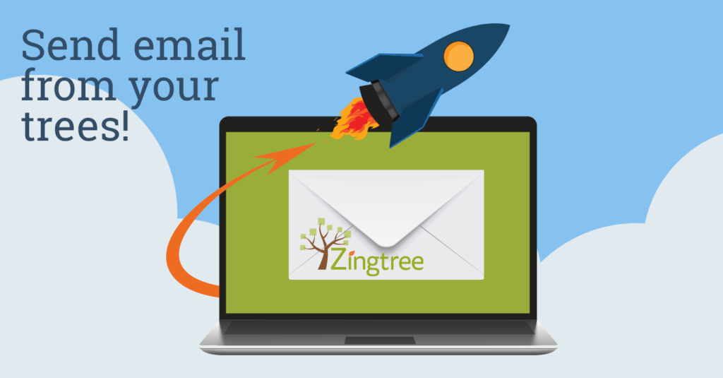 send email from trees