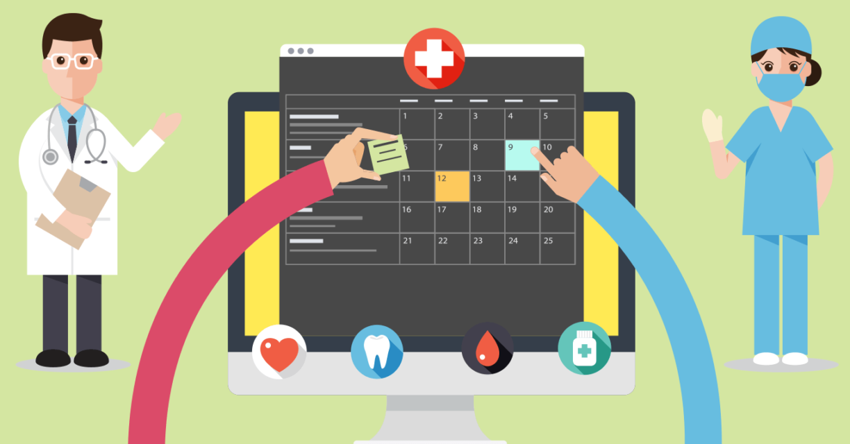 Smart Decision Tree Powered Scheduling for Healthcare