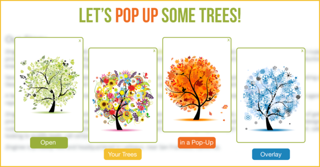Publishing Pop-Up Decision Trees