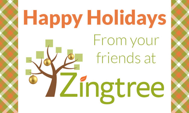 Happy Holidays from Team Zingtree!