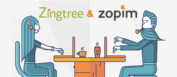 Zendesk Chat (Zopim) Decision Tree Front-End